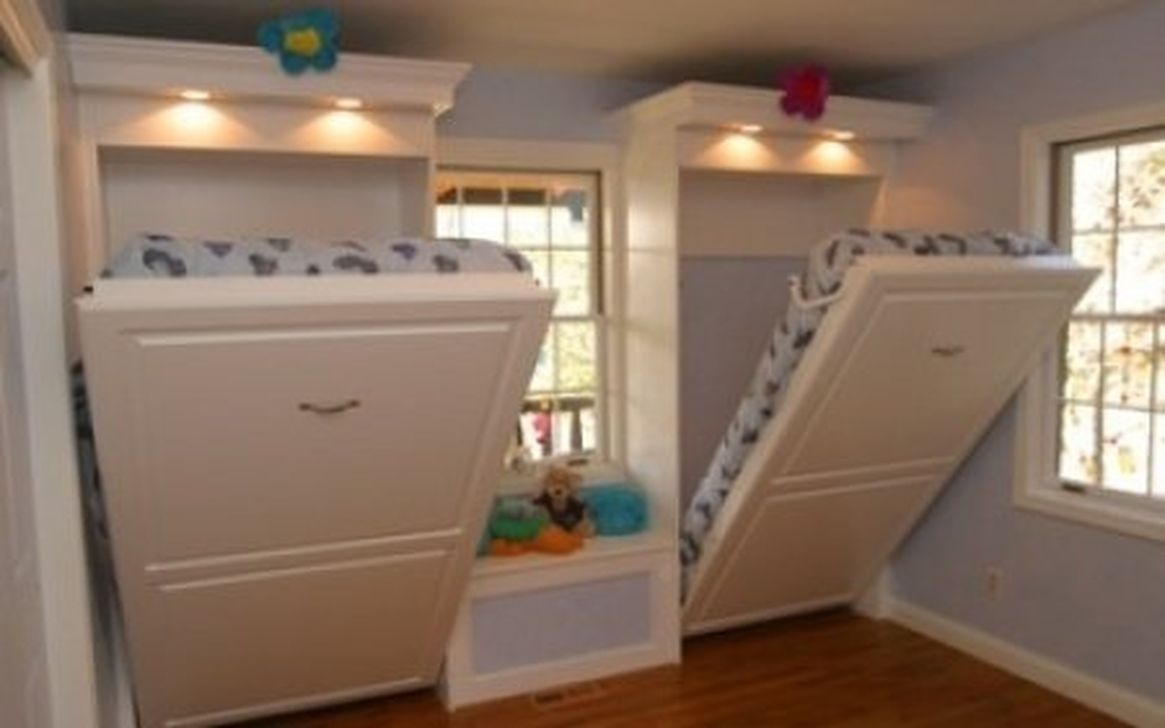 Cool And Functional Built In Bunk Beds Ideas For Kids33