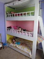 Cool And Functional Built In Bunk Beds Ideas For Kids38