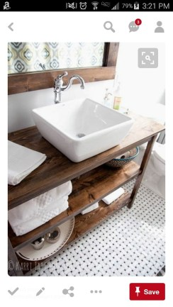 Cool Rustic Modern Bathroom Remodel Ideas 33