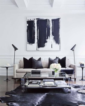 Cozy And Modern Living Room Decoration Ideas 25