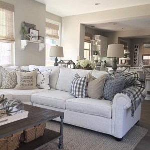 Cozy Neutral Living Room Decoration Ideas 29