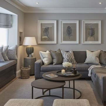 Cozy Neutral Living Room Decoration Ideas 49