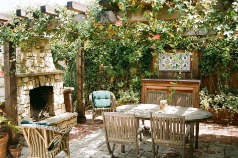 Cozy Rustic Patio Design Ideas02