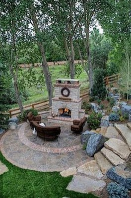 Cozy Rustic Patio Design Ideas06
