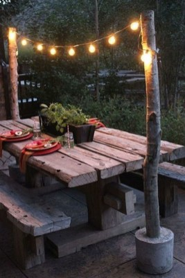Cozy Rustic Patio Design Ideas13