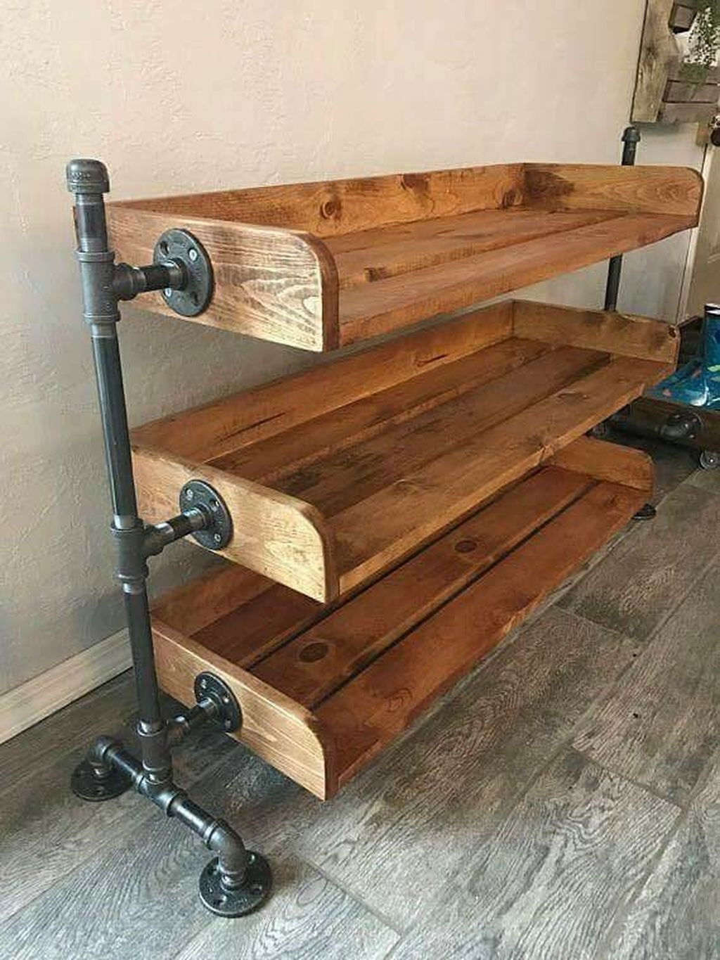 Creative Diy Industrial Shoe Rack Ideas 31