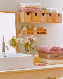 Creative Practical Bathroom Storage Design Ideas20