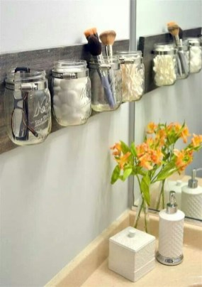 Creative Practical Bathroom Storage Design Ideas25
