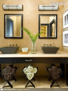 Creative Practical Bathroom Storage Design Ideas39