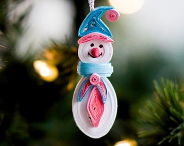 Cute Whimsical Christmas Ornaments Ideas For Your Holiday Decoration 17