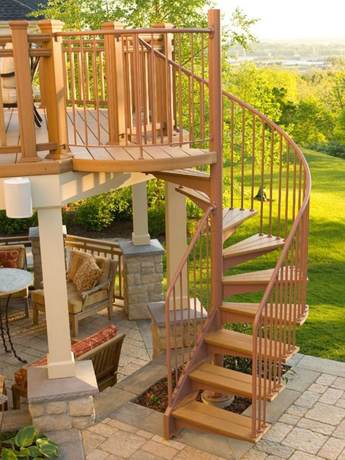 Gorgeous Wooden Deck Porch Design Ideas 04