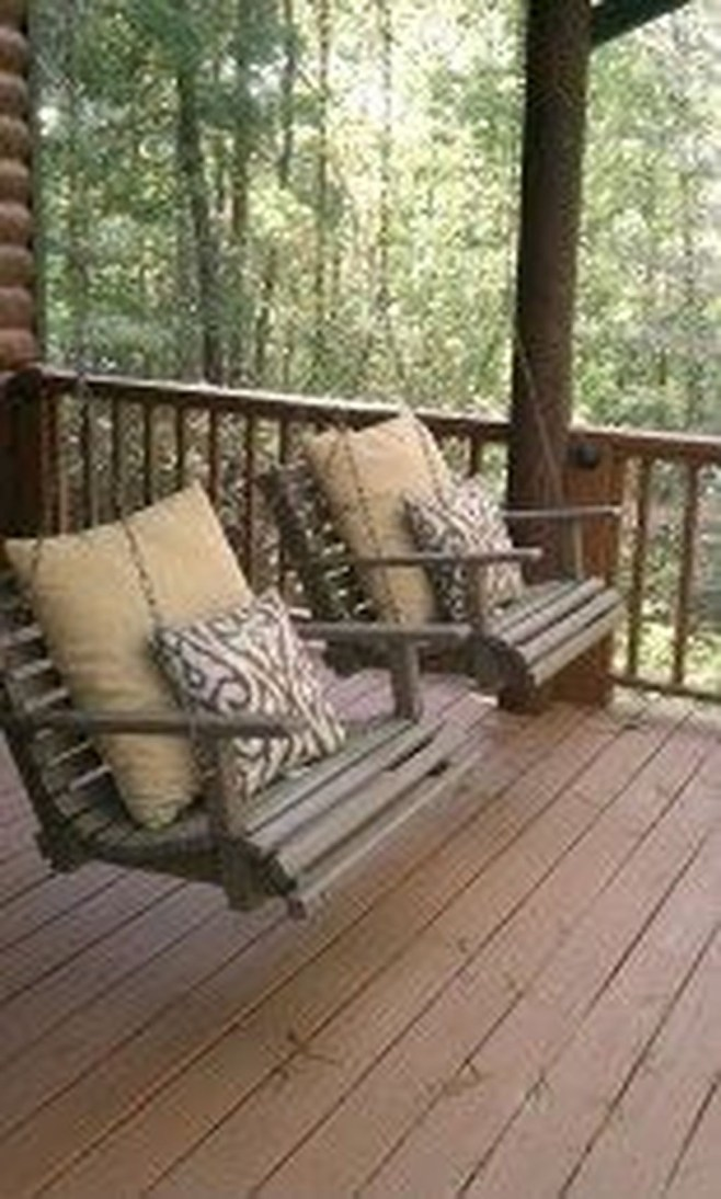 Gorgeous Wooden Deck Porch Design Ideas 11