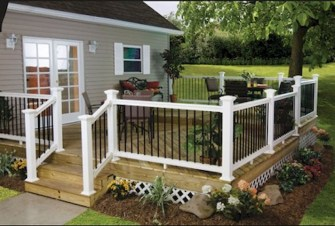 Gorgeous Wooden Deck Porch Design Ideas 25
