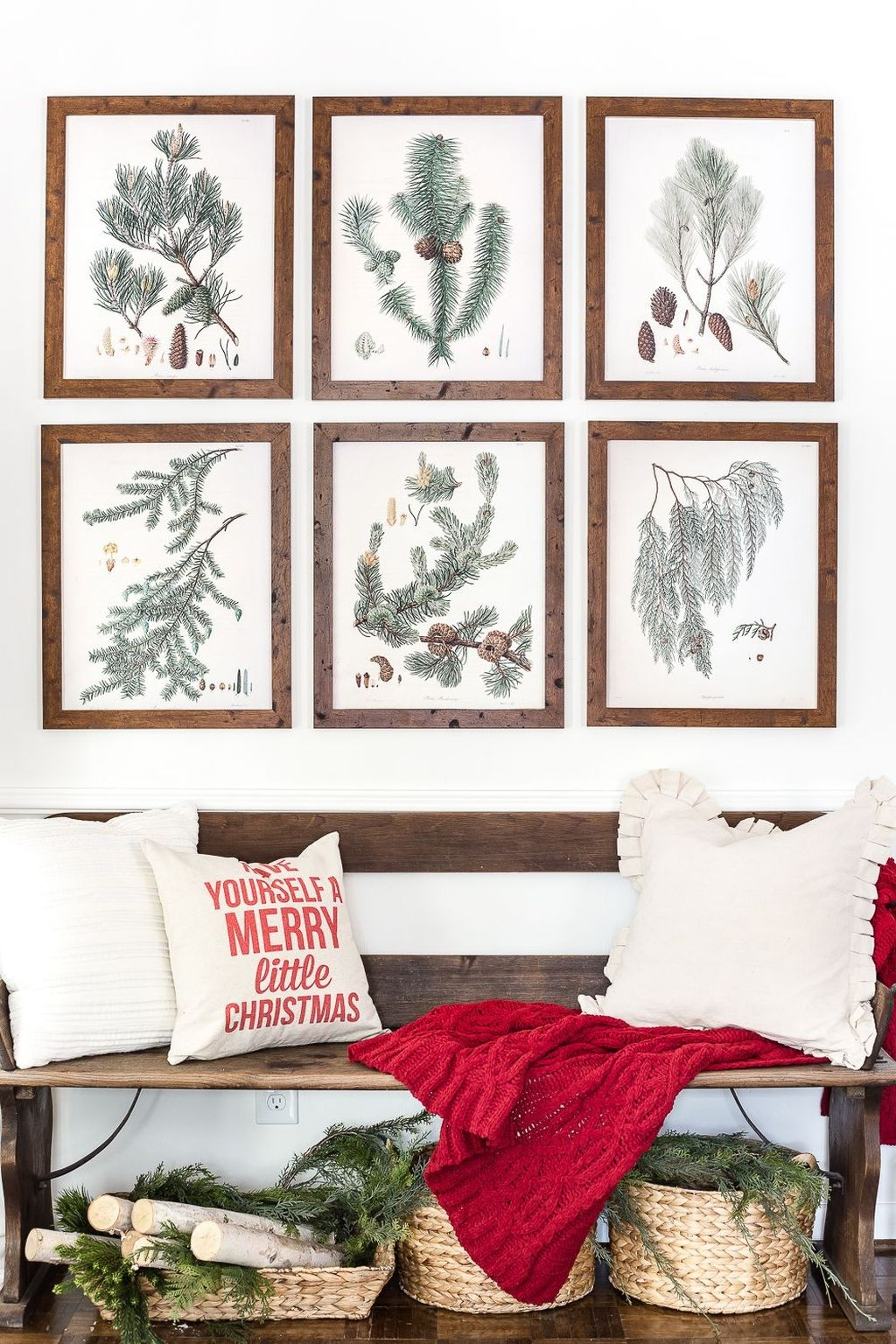 Inspiring Winter Entryway Decoration Ideas 45