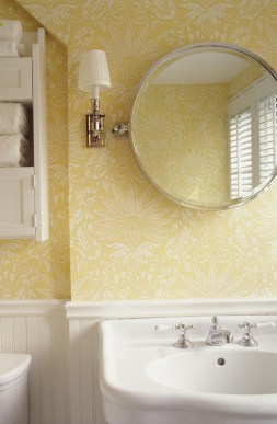 Lovely Sunny Yellow Bathroom Design Ideas 06