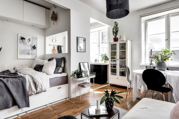 Totally Cool Tiny Apartment Loft Space Ideas 01
