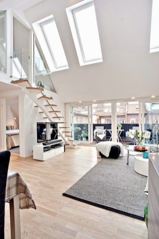Totally Cool Tiny Apartment Loft Space Ideas 06