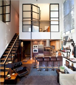 Totally Cool Tiny Apartment Loft Space Ideas 20