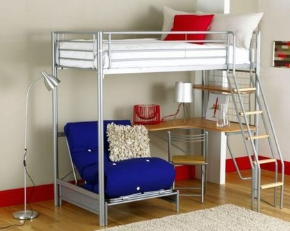 Totally Cool Tiny Apartment Loft Space Ideas 22