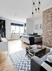 Totally Cool Tiny Apartment Loft Space Ideas 40