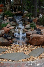 Totally Inspiring Backyard Waterfall Ideas On A Budget 23