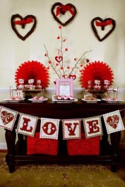 Adorable Valentines Day Party Decoration Ideas 18