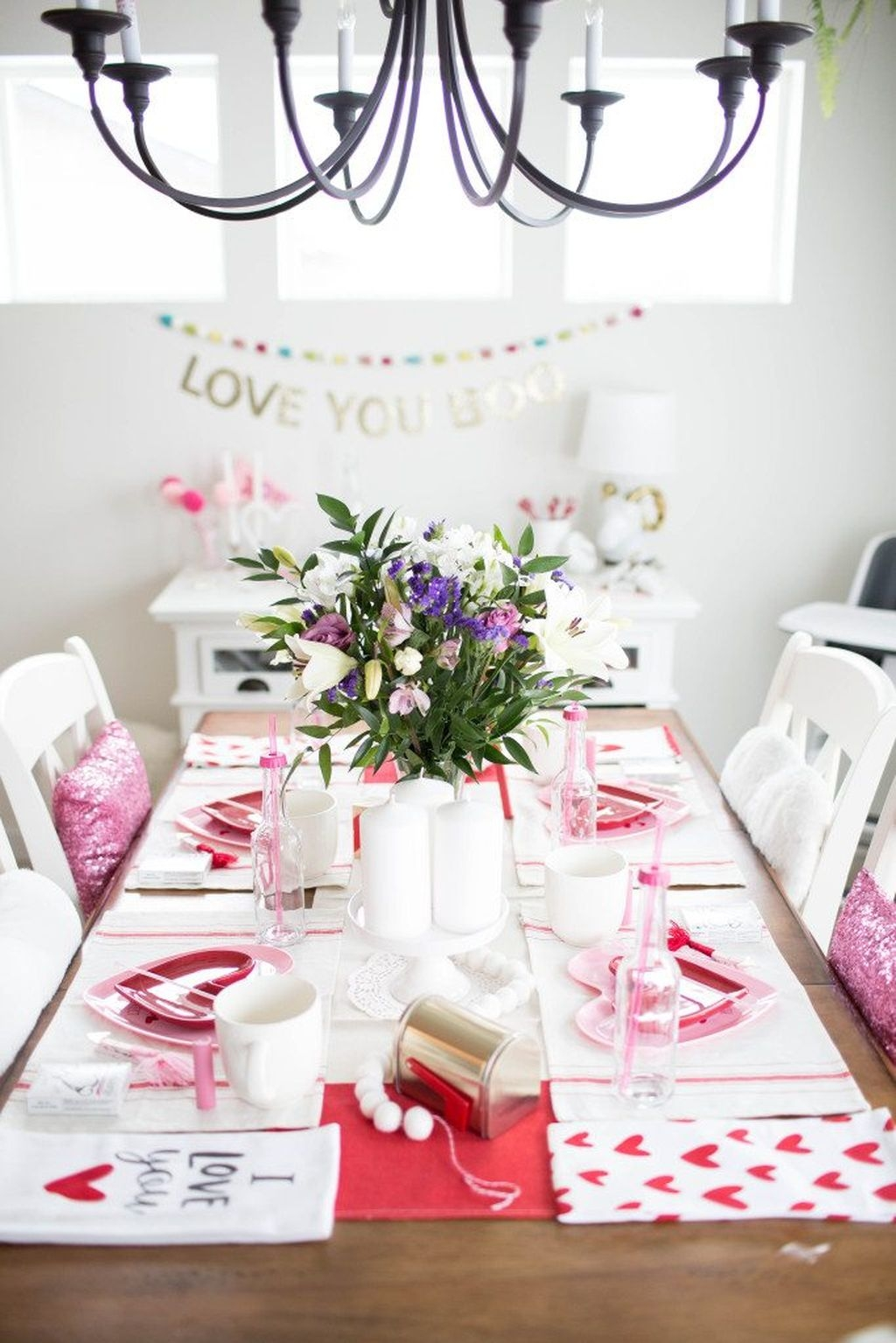 Adorable Valentines Day Party Decoration Ideas 23
