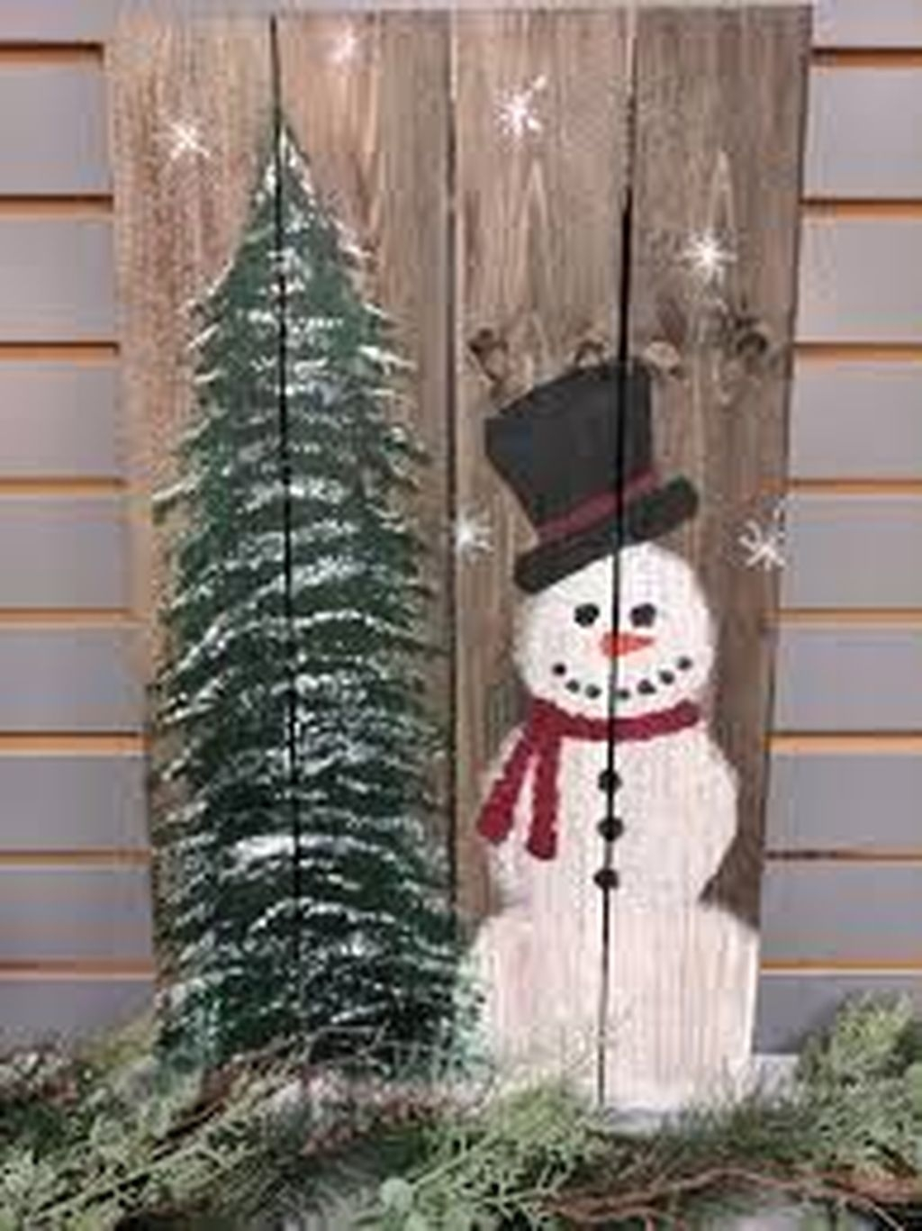 Amazing Wooden Winter Decoration Ideas 48