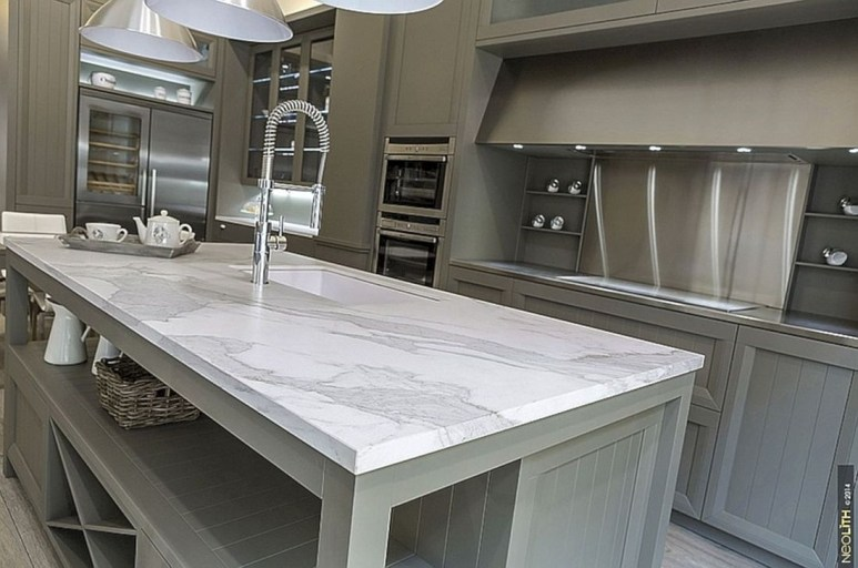 Best Porcelain Slab Countertops Design Ideas For Your Kitchen 04