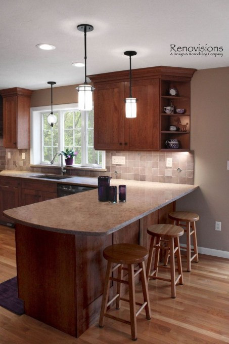 Best Porcelain Slab Countertops Design Ideas For Your Kitchen 25