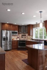 Best Porcelain Slab Countertops Design Ideas For Your Kitchen 31