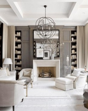 Best Winter Living Room Decoration Ideas 34