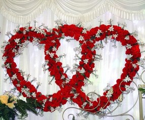 Cute Valentines Day Wedding Decoration Ideas 20