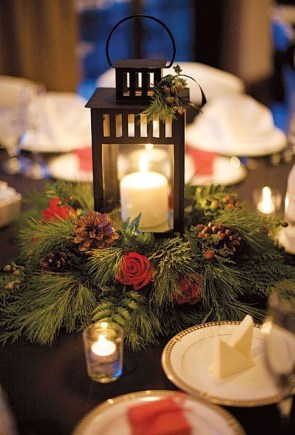 Stylish Winter Centerpiece Decoration Ideas 16