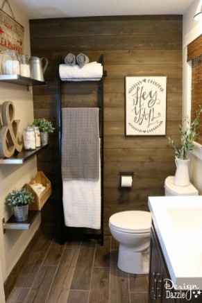 Adorable Modern Farmhouse Bathroom Remodel Ideas 35
