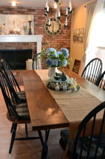 Amazing Rustic Dining Room Table Decor Ideas 01