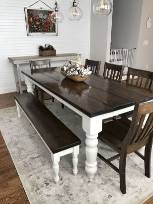 Amazing Rustic Dining Room Table Decor Ideas 08