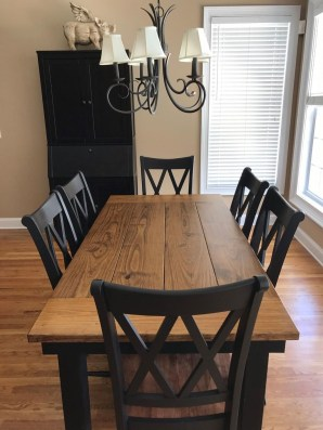 Amazing Rustic Dining Room Table Decor Ideas 18