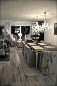 Amazing Rustic Dining Room Table Decor Ideas 29
