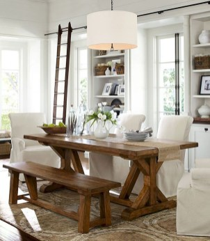 Amazing Rustic Dining Room Table Decor Ideas 35