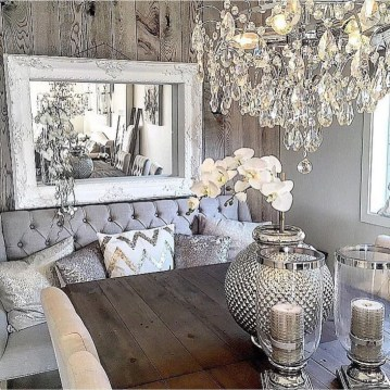 Amazing Rustic Dining Room Table Decor Ideas 54