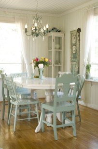 Amazing Rustic Dining Room Table Decor Ideas 55