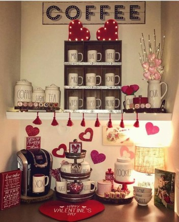 Amazing Valentine Decoration Ideas For Your Apartment 52