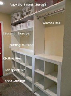 Awesome Laundry Room Storage Organization Ideas 10