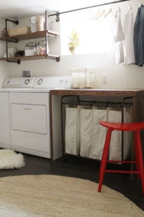Awesome Laundry Room Storage Organization Ideas 16