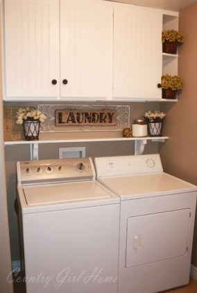 Awesome Laundry Room Storage Organization Ideas 24