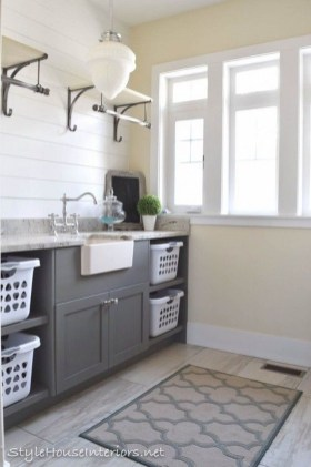 Awesome Laundry Room Storage Organization Ideas 25