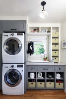 Awesome Laundry Room Storage Organization Ideas 29