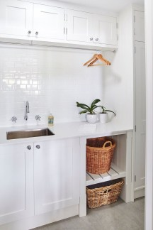 Awesome Laundry Room Storage Organization Ideas 32