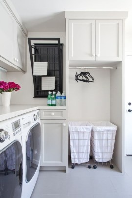 Awesome Laundry Room Storage Organization Ideas 54